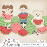 Summertime Melons by Kim Cameron