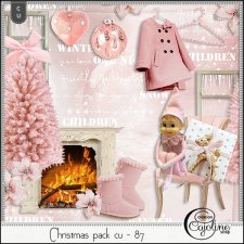 Christmas pack CU - 87 by Cajoline-Scrap