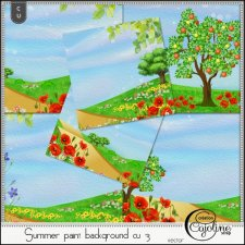 Summer paint backgrounds CU3 by Cajoline-Scrap