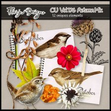 CU vol 176 Autumn Mix by Florju Designs