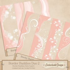 Border Buddies Duo Set 2 CU - S4H by SnickerdoodleDesigns