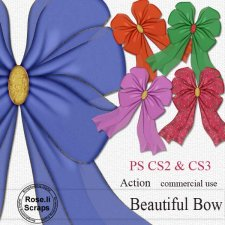 Action - Beautiful Bow I by Rose.li