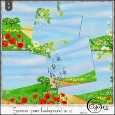Summer paint backgrounds CU2 by Cajoline-Scrap