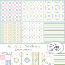 All Baby Newborn Patterns by Kim Cameron