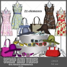 Spring Fashion 1 CU4CU by Scrap and Tubes