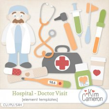 Hospital Doctor Visit Templates by Kim Cameron