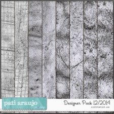 Pack 12 Paper Overlays by Pati Araujo
