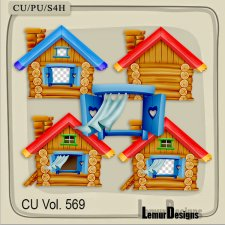 CU Vol 569 Houses by Lemur Designs