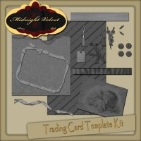 Trading Card Template Kit