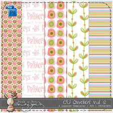 Overlay Pattern Templates vol 6 by Peek a Boo Designs
