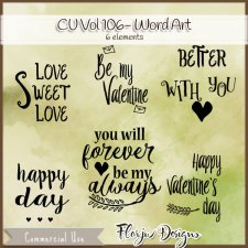 CU vol 106 Wa Love by Florju Designs