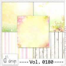 Vol. 0180 Spring Papers by Doudou Design