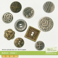 Buttons - Metal 1