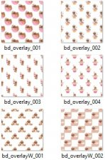 Baking Sweetness Gingers Layered Template COMBO Set