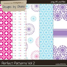 Perfect Patterns Vol 2 by Ohana Designs