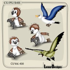 CU Vol 430 Animals by Lemur Designs