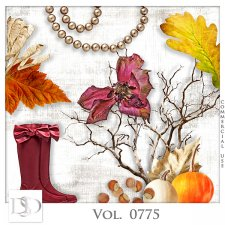 Vol. 0775 Autumn Nature Mix by D's Design