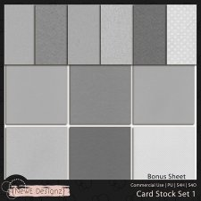 EXCLUSIVE Cardstock Set 1 by NewE Designz
