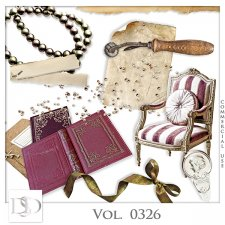 Vol. 0326 to 0330 Vintage Mix by D's Design