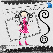 Doll + Things by Peek a Boo Designs