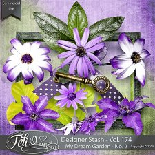Designer Stash Vol 174 - My Dream Garden No. 2 - by Feli Designs