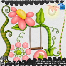 Fantasy Templates by Peek a Boo Designs