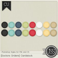 Doctors Orders Cardstock PS Styles by Just So Scrappy