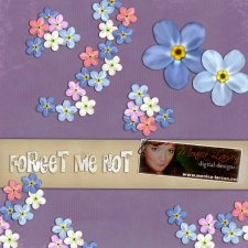 Forget me Not by Monica Larsen