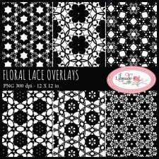 Floral lace overlaysLilmade Designs