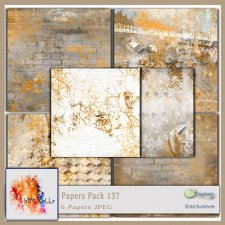PAPERS Pack 137 EXCLUSIVE bymurielle