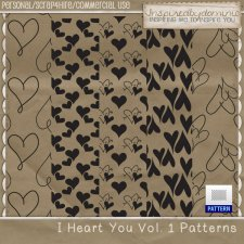 I Heart You Patterns Vol 1
