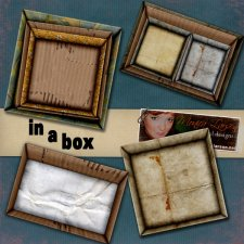 In a Box - action by Monica Larsen