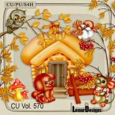CU Vol 570 Autumn by Lemur Designs