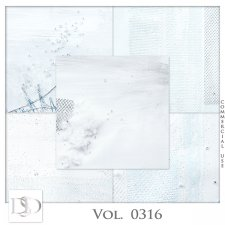 Vol 0314 to 0316 Winter Papers by Doudou Design