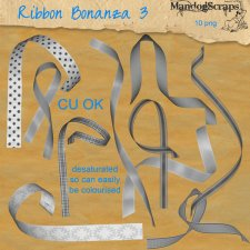 Ribbon Bonanza 3 by Mandog Scraps