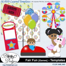 Fair Fun - Games 1 TEMPLATES