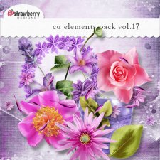Flower Element Mix Vol 17 by Strawberry Designs