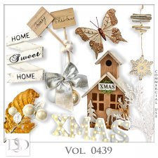 Vol. 0439 Winter Christmas Mix by D's Design