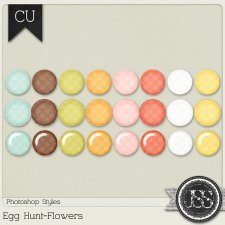 Egg Hunt Flowers PS Styles by Just So Scrappy