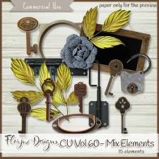 CU vol 60 Mix Elements by Florju Designs