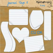 Journal Tags 5 by Mandog Scraps
