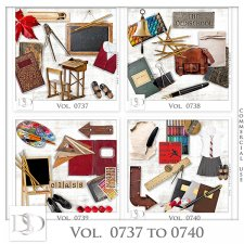 Vol. 0737 to 0740 School Mix by D's Design