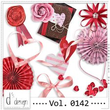 Vol. 0139 to 0144 Love Mix by Doudou Design