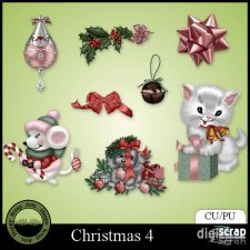 Christmas 4 Elements by Happy Scrap Arts