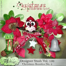 Designer Stash Vol 155-158 - Christmas Beauties BUNDLE by Feli Designs