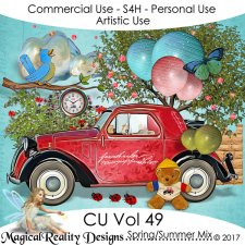 Spring/Summer Mix - CU Vol 49 by MagicalReality Designs