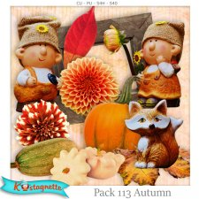 Pack 113 autumn by Kastagnette