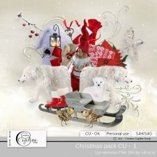 Christmas pack - CU 1 by Cajoline-Scrap