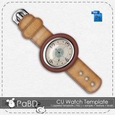 Watch Layered Template by Peek a Boo Designs