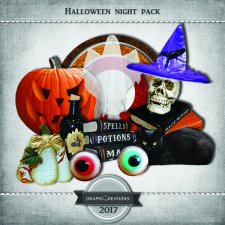 Halloween night pack EXCLUSIVE by Graphic Creations